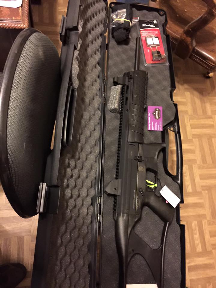 Taurus CT40 Gen 2 rifle with a hard case. MSRP is $879.24. Our price is $599.00 Look at all the cool stuff that comes with this neat gun!